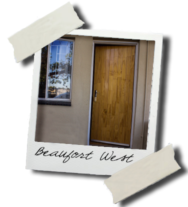 Beaufort West door