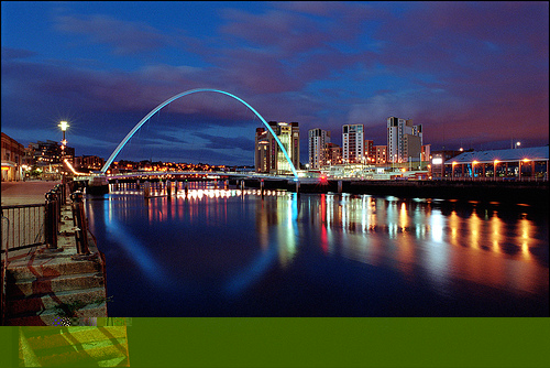 Millenium Bridge (photo courtesy of Google)