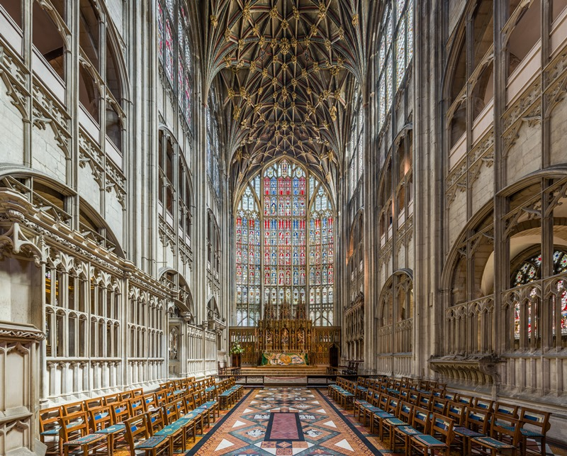 Gloucester Cathedral - internal