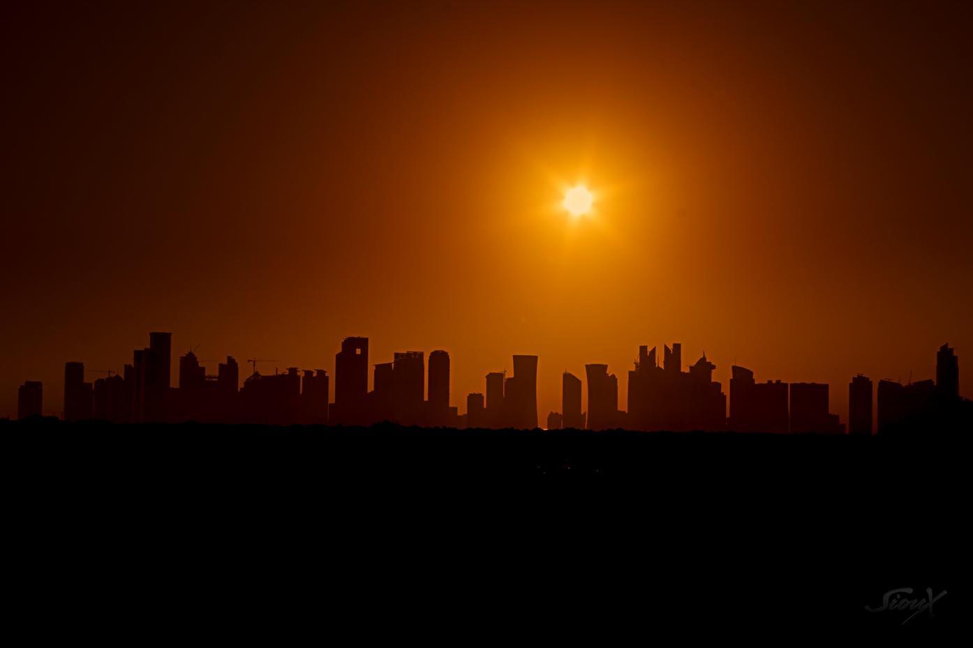 Early morning Doha