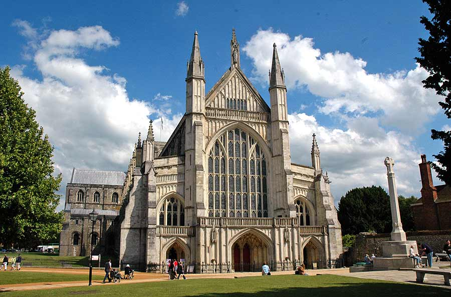 Winchester Cathedral courtesy Google Images